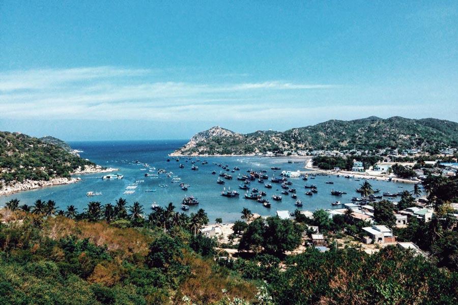 [Review] Say đắm với vẻ đẹp của biển Cà Ná Ninh Thuận
