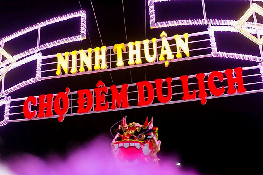 [Review] Chợ đêm Ninh Thuận, nơi tận hưởng không khí nhộn nhịp về đêm